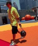 周杰伦昆凌打篮球怎么回事?两人配合超默契